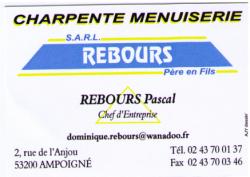 Charpente Menuiserie Rebours